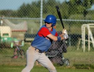 Batter for Bruno Bisons at provincials