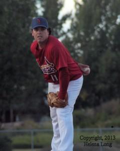 Francis Kiefer, Cardinals pitcher