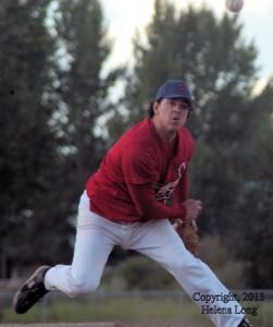 Francis Kiefer, Unity Cardinals' pitcher