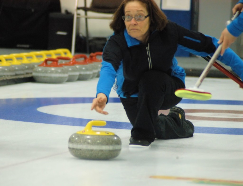 senior women's curling