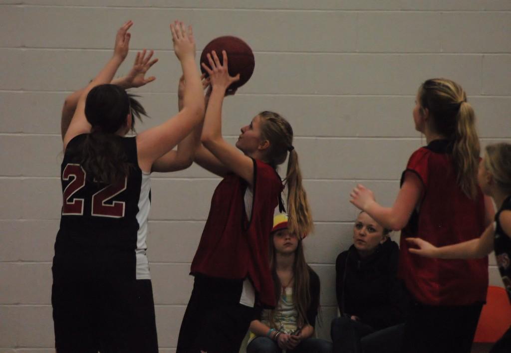 junior girls' basketball