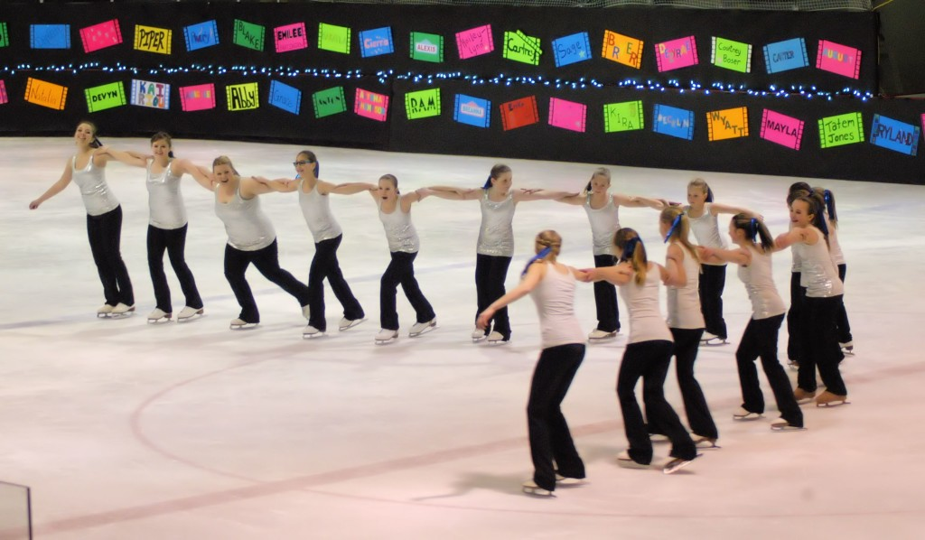 figure skating group number