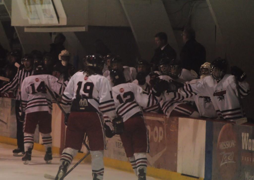 Unity Midget AA Lazers hockey team