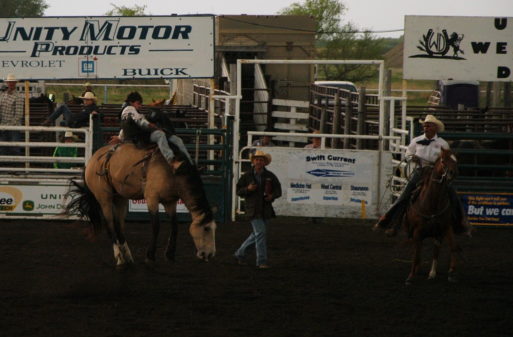 Rodeo at Unity SK June 1, 2014
