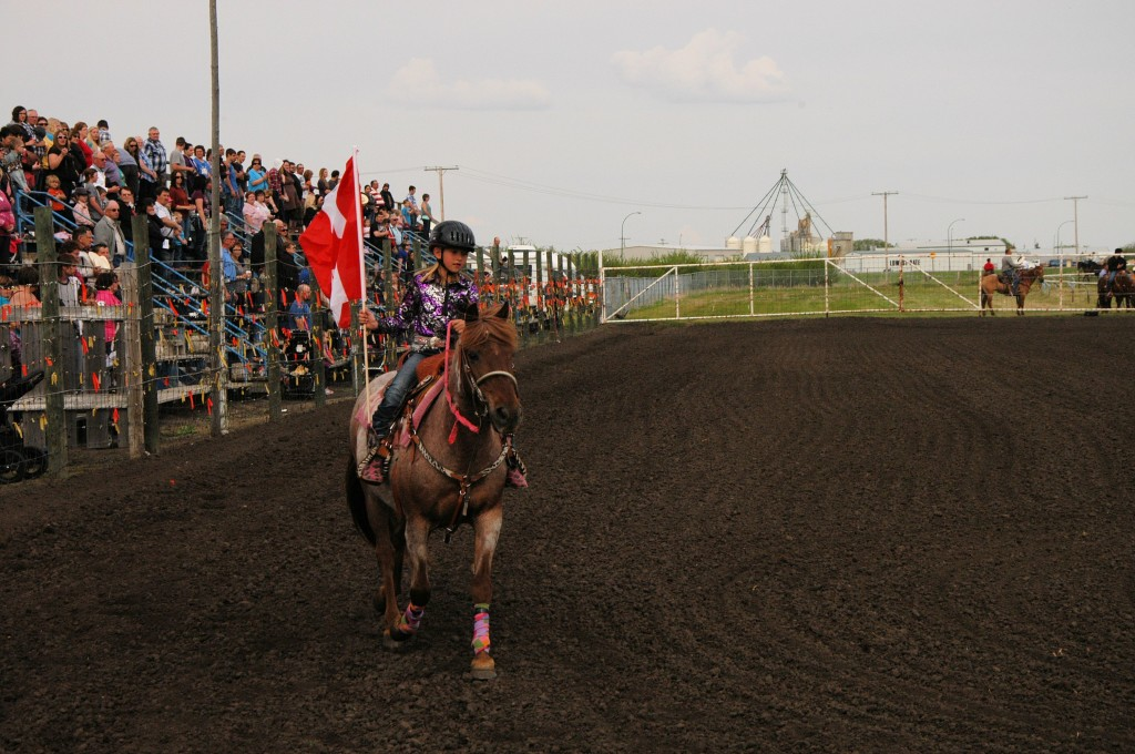 O Canada at Unity Western Days rodeo