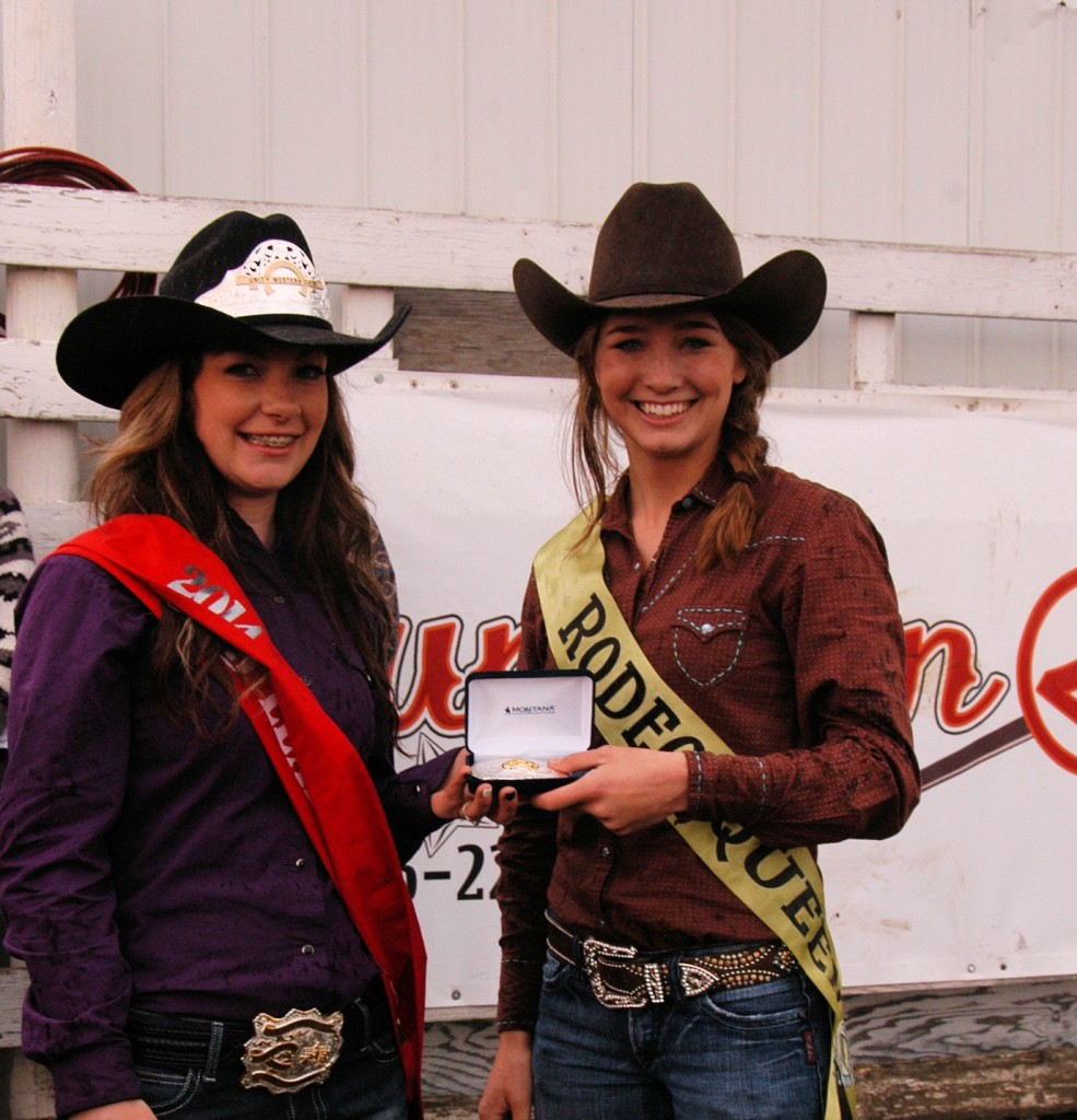 Crowning of 2014 Rodeo Queen