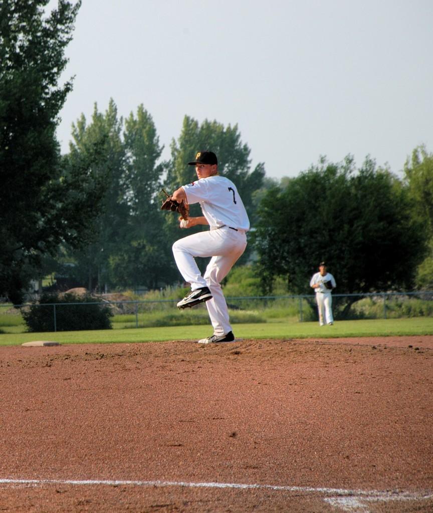 pitcher Blake Robertson