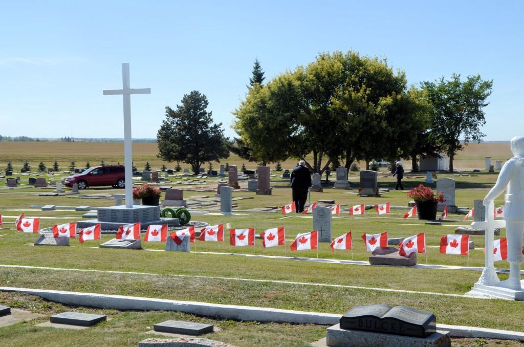 Veterans' Plot, Pleasantview Cemetery, Unity, Saskatchewan