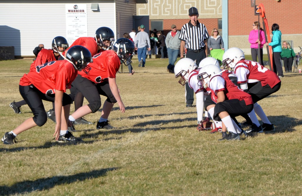 minor football at Unity, Saskatchewan