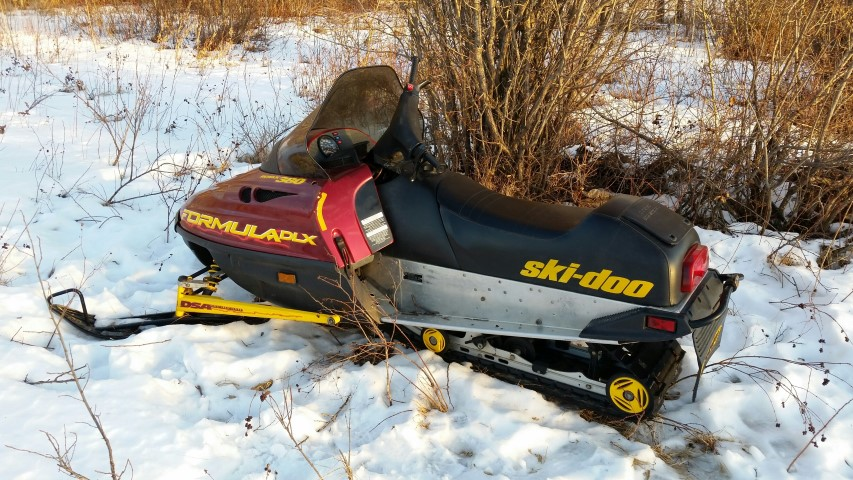 RCMP search turns up stolen vehicles and this snowmobile.