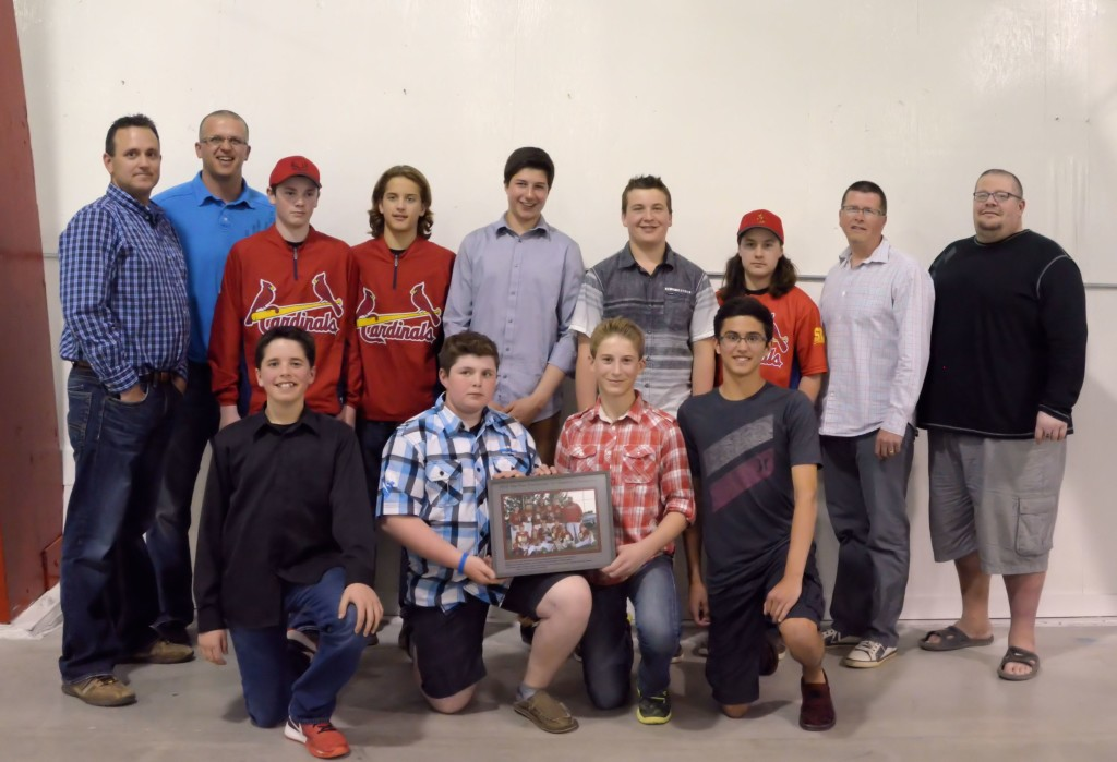 2013 Peewee Cardinals