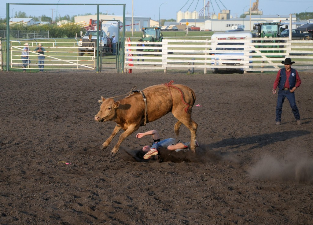 Unity Western Days Celebrity Bull Riding