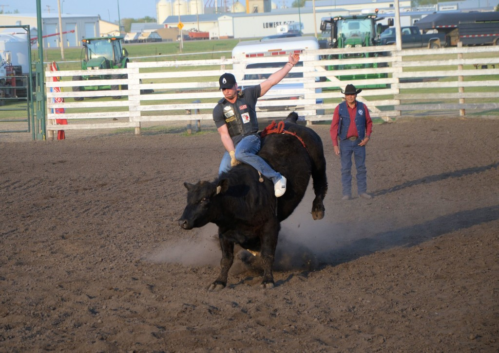 Local rodeo action at Unity SK