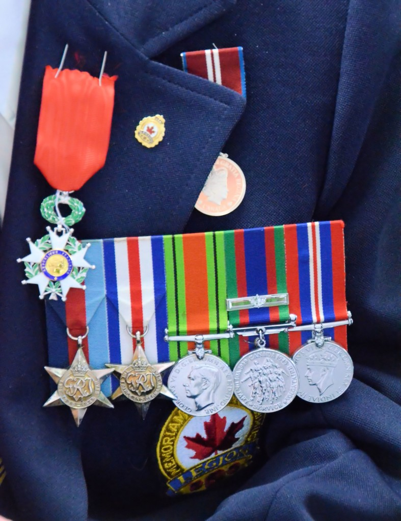 French Legion of Honour, QE II Jubilee Medal and war service medals