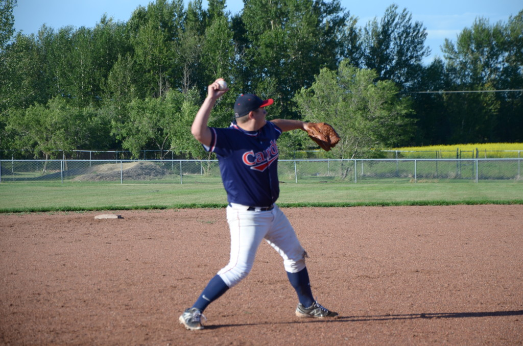Graeme Gieni and the Unity Cardinals are moving on to 2A senior men's provincials in August.