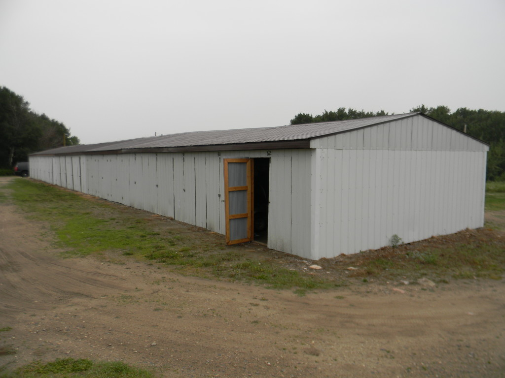 storage building at Unity Golf Course