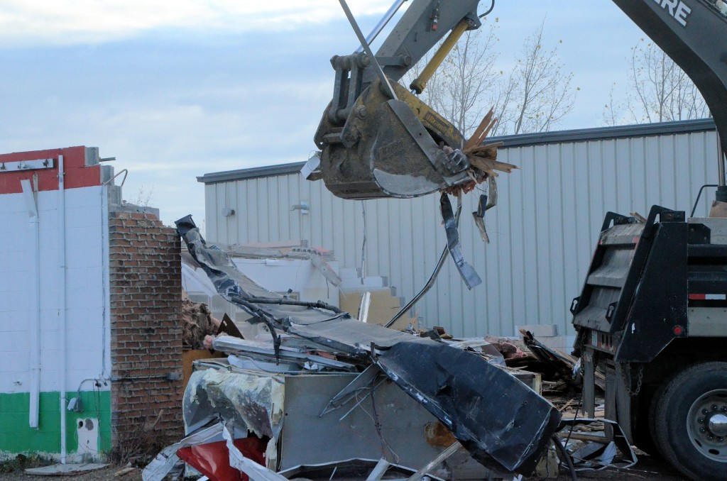 building demolition in Unity SK