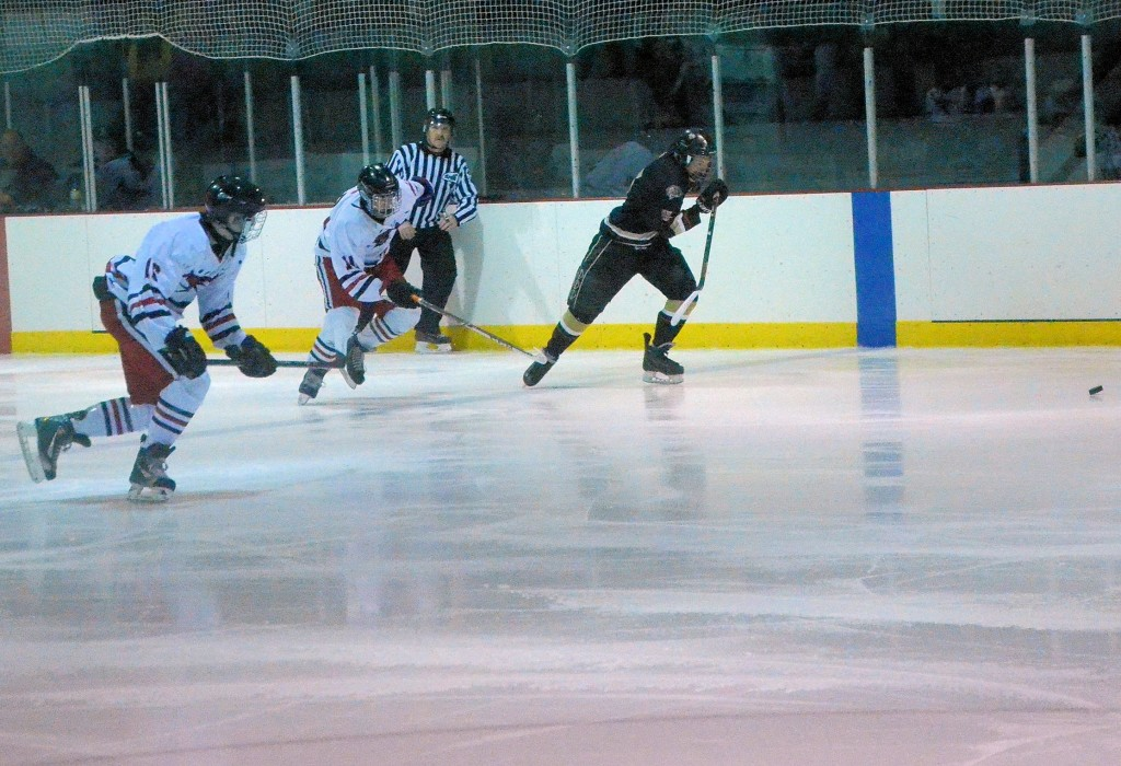 midgets chasing the puck