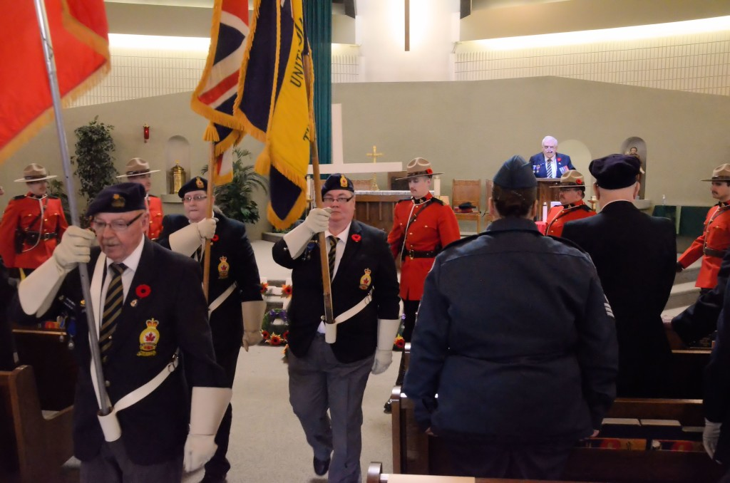 Remembrance Day in Unity, 2015