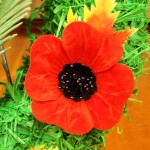 rem wilkie wreath poppy