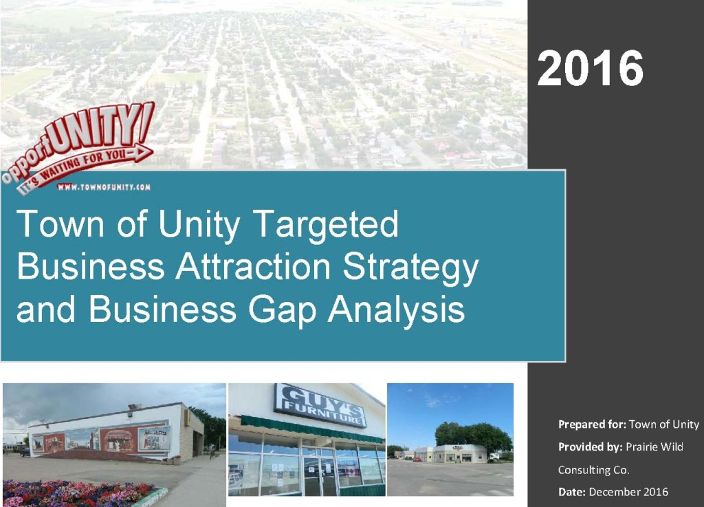 business gap analysis front page