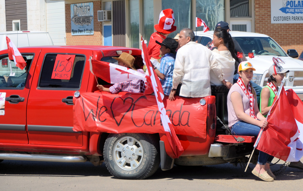 parade love canada