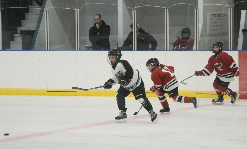 Atom Wilkie Outlaws hockey power play